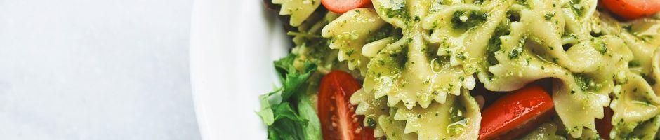 pasta con pesto di zucchine