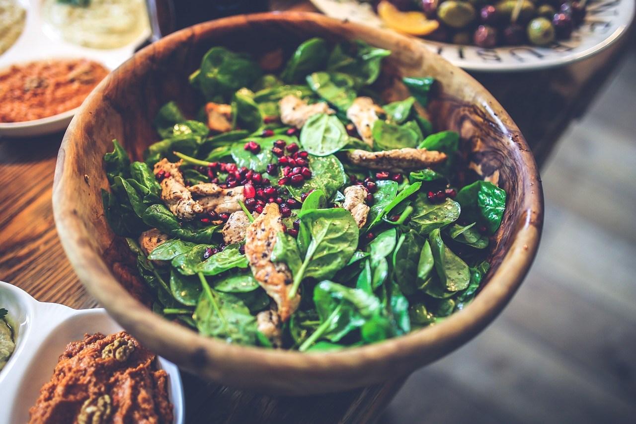 Nutrizione Sana Ricette Insalata al profumo di melagrana