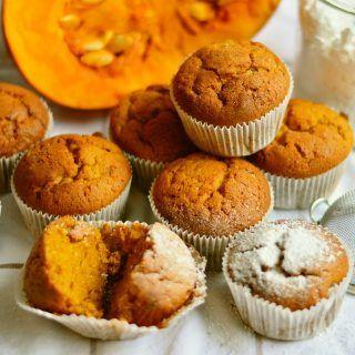 muffin di cioccolato e zucca