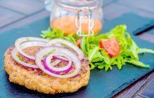 hamburger tacchino con verdure