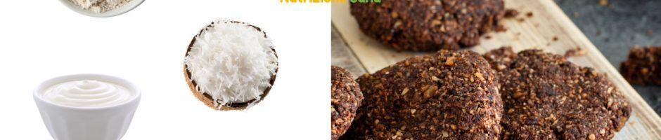Biscotti al cacao con cocco e granella