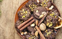 Biscotti al cacao e granella
