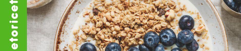 colazione in chetogenica yogurt