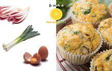 muffin salati con ingredienti