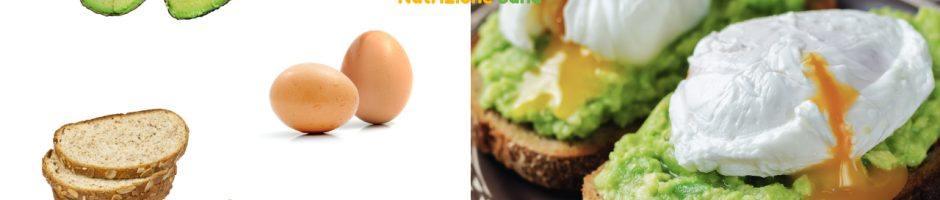 avocado toast con uovo