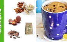 chetodolce con ingredienti dolce in tazza cioccolato