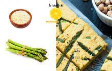 Farinata con asparagi