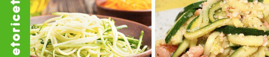 Spaghetti-di-zucchine-con-crumble uovo e tonno