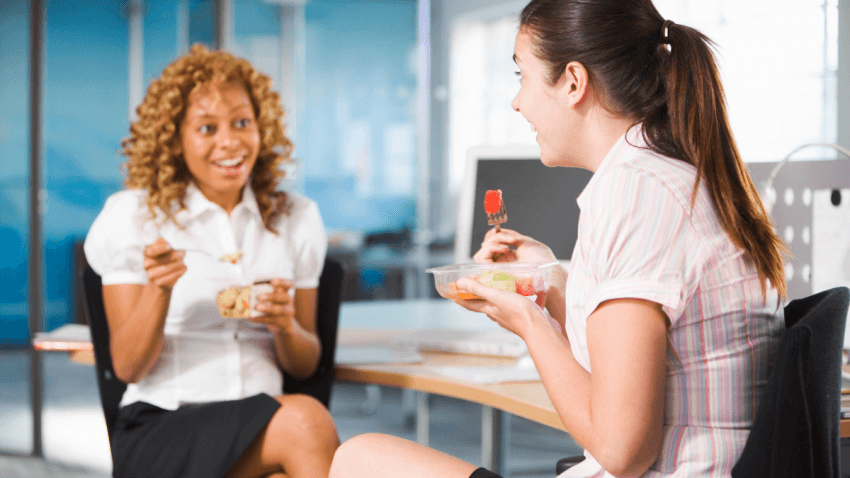 Cosa posso mangiare quando sono in ufficio?